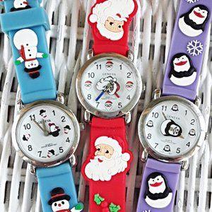 3 NWT Supercute Kids Geneva Winter/Holiday Watches